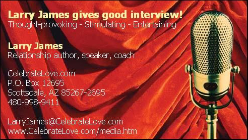 Business card for the Media