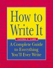 How to Write It