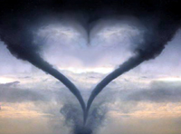 Stormy Realtionship Heart